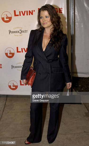 Yasmine Bleeth during Carmen Electra and Dave Navarro Engagement Party at The Pacific Design Center in West Hollywood California United States