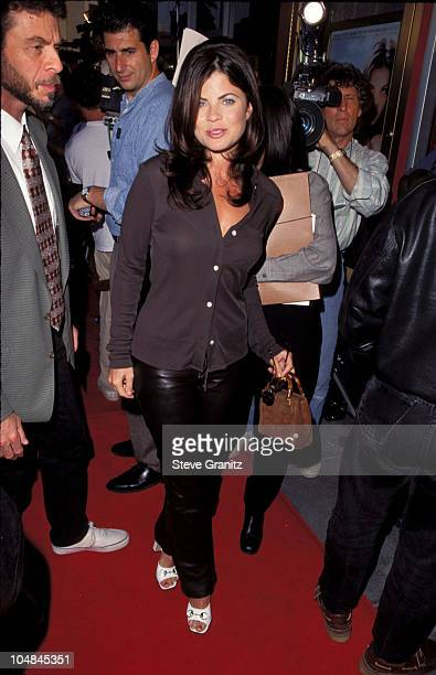 Yasmine Bleeth during 'Stealing Beauty' Beverly Hills Premiere at Cecchi Gori Fine Arts Theatre in Beverly Hills California United States