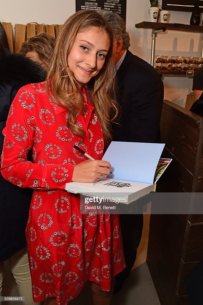 Yasmine Larizadeh attends The Good Life Eatery Cookbook Launch Party��in Knightsbridge on April 28, 2016 in London, England.