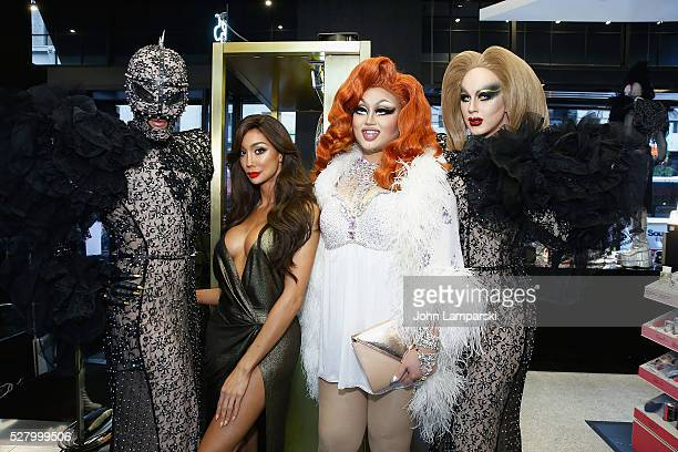 Yasmine Petty and Kim Chi attend Pat McGrath's Skin Fetish 003 Launch at Sephora Union Square on May 3 2016 in New York City