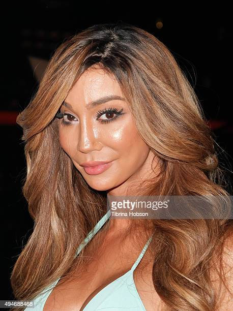 Yasmine Petty attends Logo TV's 'Beautiful As I Want To Be' web series launch party at The Standard Hotel on October 27 2015 in Los Angeles California