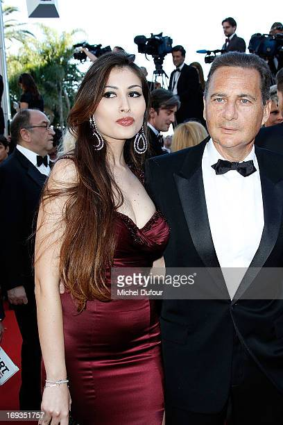Yasmine Tordjam and Eric Besson attends the 'Nebraska' premiere during The 66th Annual Cannes Film Festival at the Palais des Festiva on May 23 2013...