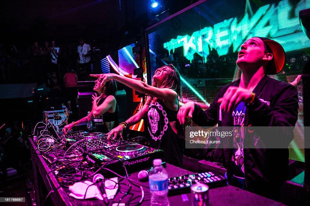"""Krewella """"Get Wet"""" Album Release Foam Party"""
