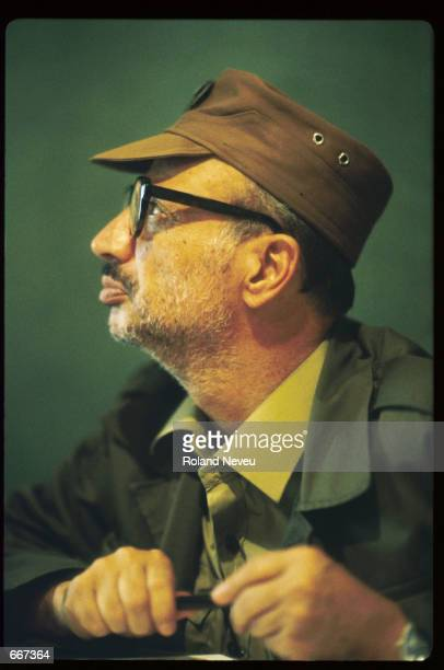 Yasser Arafat sits September 1983 in Tripoli Lebanon After receiving the Nobel Peace Prize in 1994 Palestine Liberation Organization leader Yasser...