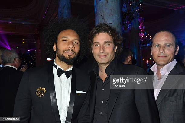 Yassine Azzouz and Richard Orlinsky attend the Heartfund Dinner The 67th Annual Cannes Film Festival at the Carlton on May 21 2014 in Cannes France