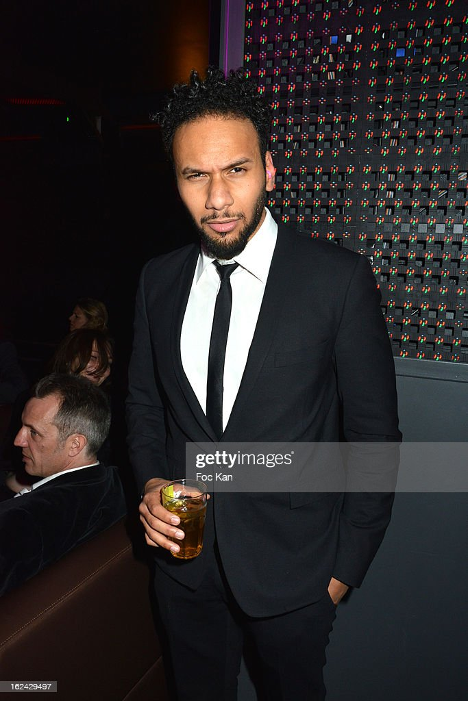 Yassine Azzouz attends the Cesar Film Awards 2013 after party at the Club 79 on February 22, 2013 in Paris, France.