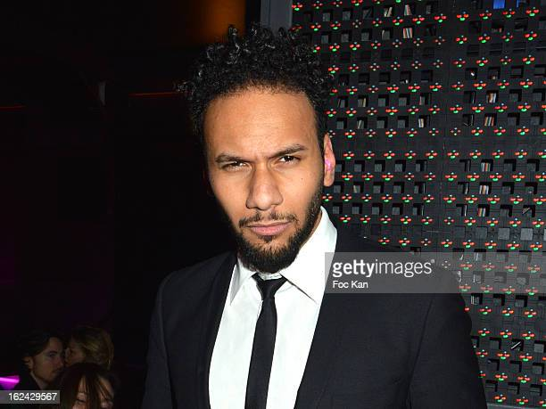 Yassine Azzouz attends the Cesar Film Awards 2013 after party at the Club 79 on February 22 2013 in Paris France