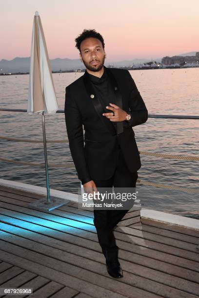 Yassine Azzouz attends the Generous People 5th Anniversary Party during the 70th annual Cannes Film Festival at Martinez Pier on May 24 2017 in...