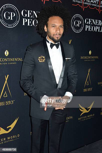 Yassine Azzouz attends the Heartfund Dinner The 67th Annual Cannes Film Festival at the Carlton on May 21 2014 in Cannes France