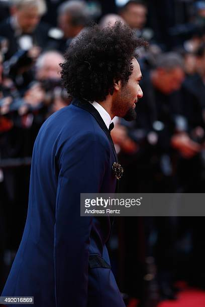 Yassine Azzouz attends 'The Homesman' premiere during the 67th Annual Cannes Film Festival on May 18 2014 in Cannes France