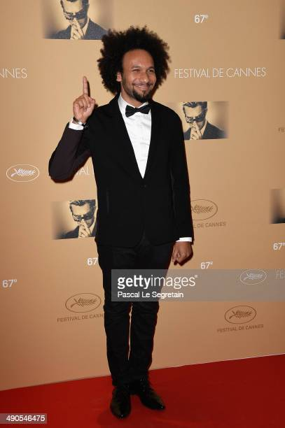 Yassine Azzouz attends the Opening Ceremony dinner during the 67th Annual Cannes Film Festival on May 14 2014 in Cannes France
