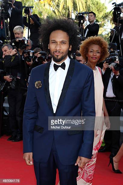 Yassine Azzouz attends the Premiere of 'The Homesman' at the 67th Annual Cannes Film Festival on May 18 2014 in Cannes France