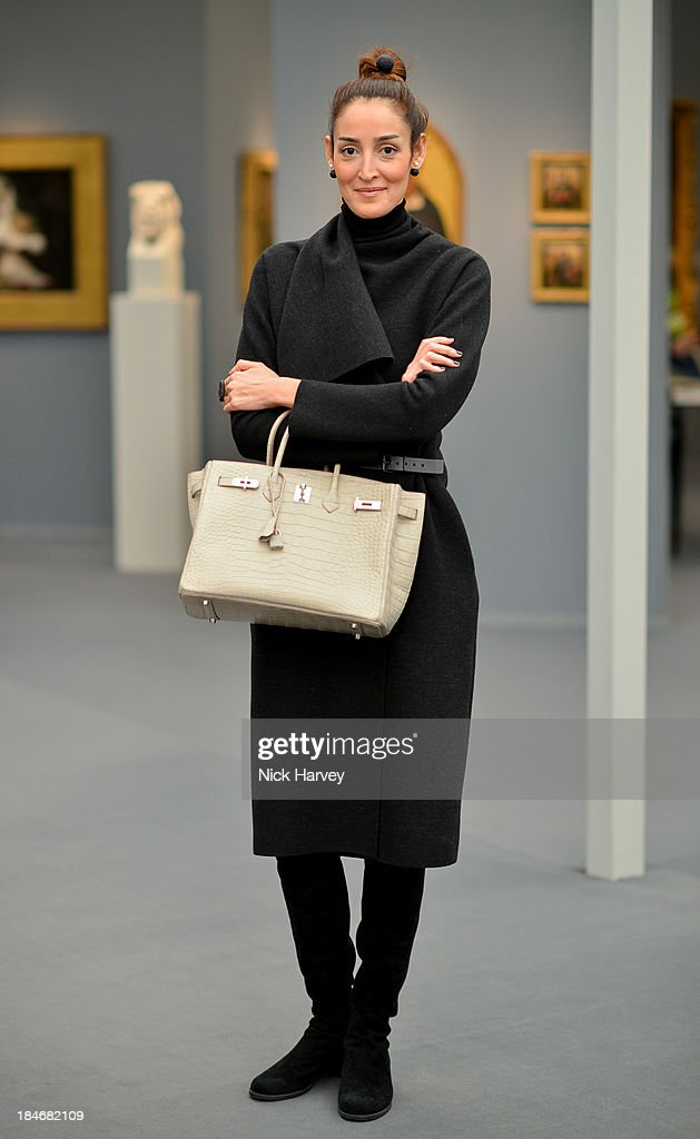 Yassmin Ghandehari attends the private view for Frieze Masters on October 15, 2013 in London, England.