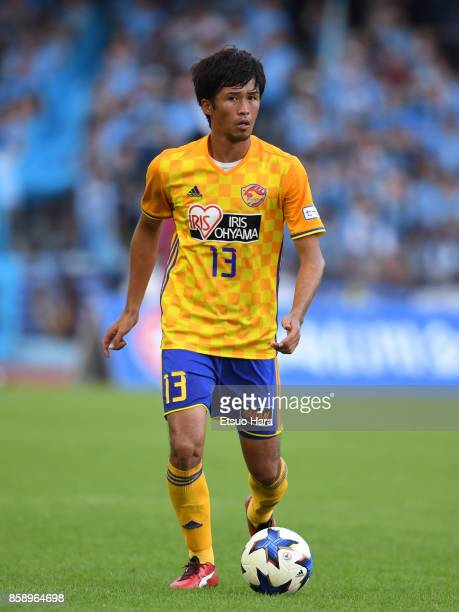 Yasuhiro Hiraoka of Vegalta Sendai in action during the JLeague Levain Cup semi final second leg match between Kawasaki Frontale and Vegalta Sendai...