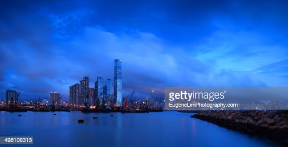 Yau ma tei typhoon shelter stock photo getty images for Ma fishing license cost