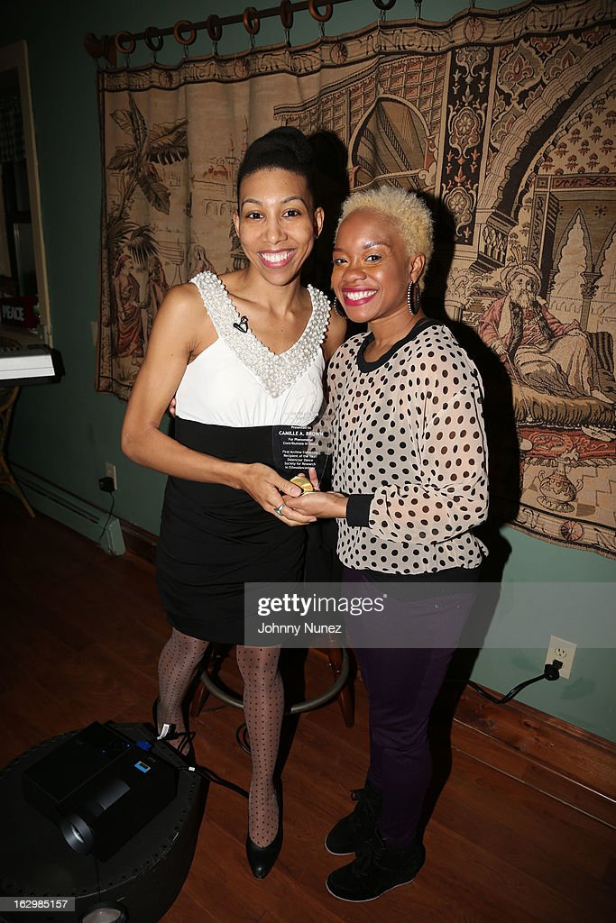 Yauri Dalencour and Camille A. Brown attend the 2013 Yauri Dalencour Dance Black History Month Benefit at the Moran Victorian Mansion on February 23, 2013 in New York City.