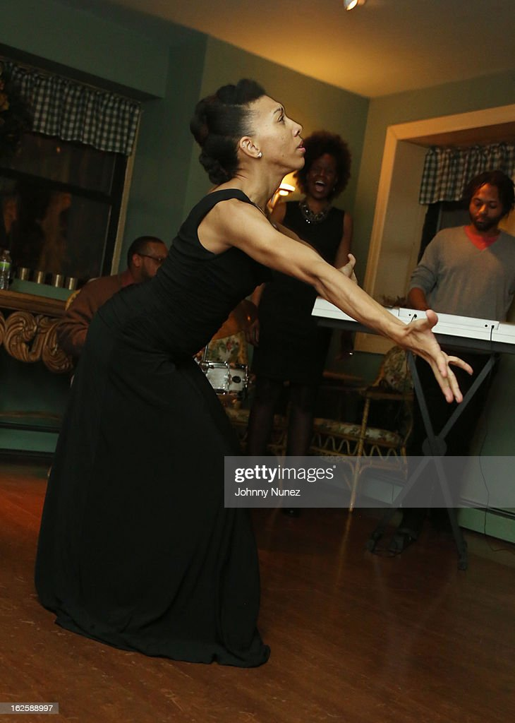 Yauri Dalencour performs at the 2013 Yauri Dalencour Dance Black History Month Benefit at the Moran Victorian Mansion on February 23, 2013 in New York City.