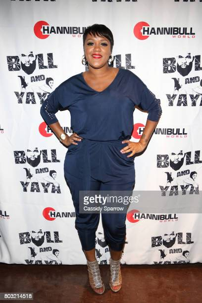 Yaya attends The Film Review Comedy Show at Helen Mills Theater on June 28 2017 in New York City