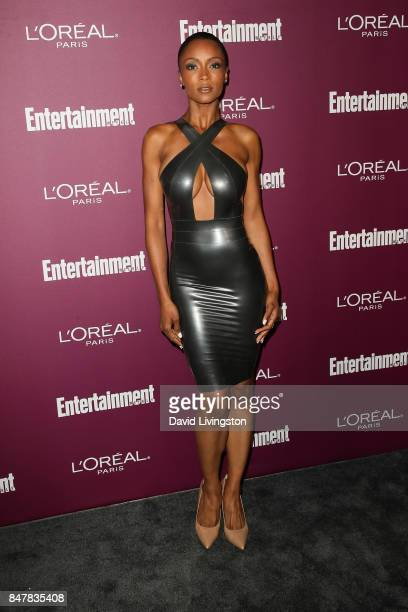 Yaya DaCosta attends the Entertainment Weekly's 2017 PreEmmy Party at the Sunset Tower Hotel on September 15 2017 in West Hollywood California