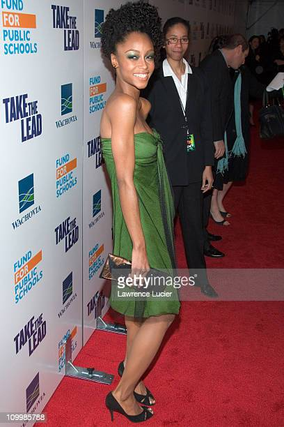 Yaya DaCosta during Take The Lead New York City Premiere Arrivals at Loews Lincoln Square in New York City New York United States