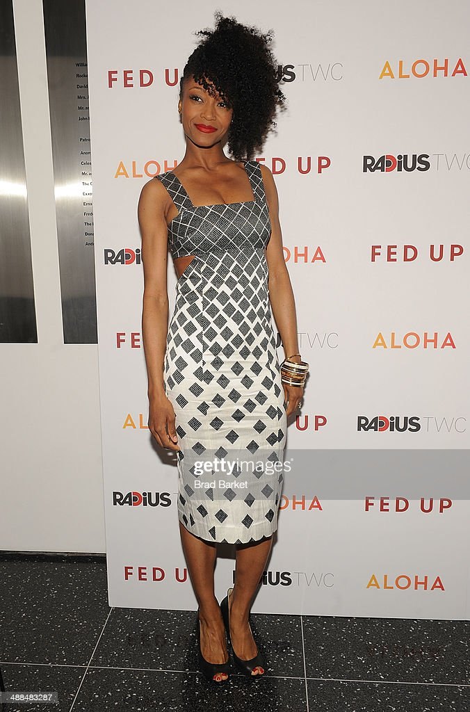 Yaya Decosta attends 'Fed Up' premiere at Museum of Modern Art on May 6, 2014 in New York City.
