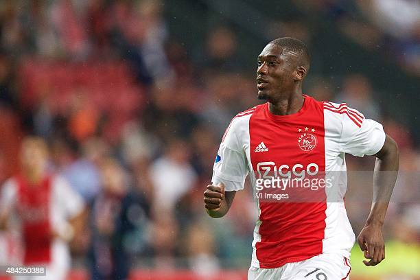 Yaya Sanogo of Ajax during the Dutch Eredivisie match between Ajax Amsterdam and Willem II Tilburg at the Amsterdam Arena on August 15 2015 in...