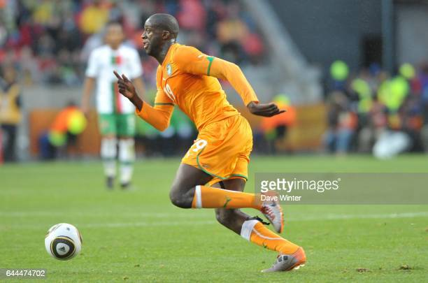 Yaya TOURE Cote d'Ivoire / Portugal Coupe du Monde 2010 Match 13 Groupe G Nelson Mandela Bay Stadium Port Elizabeth Afrique du Sud Photo Dave Winter...