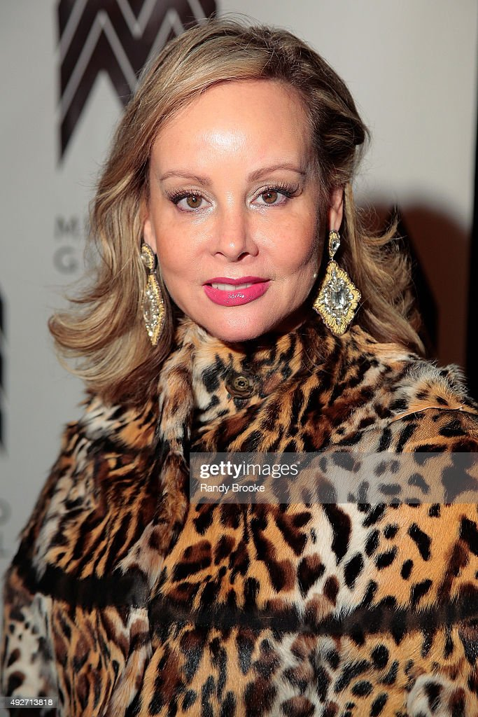 Yaz Hernandez attends the 2015 Mercado Global Fashion Forward Gala at The Bowery Hotel on October 14, 2015 in New York City.
