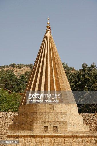 Yazidi temple North Iraq : Foto de stock