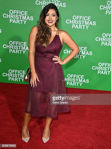 Ydelays arrives at the Premiere Of Paramount Pictures' 'Office Christmas Party' at Regency Village Theatre on December 7 2016 in Westwood California
