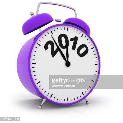 Year End Deadline Alarm Clock : Stock Photo