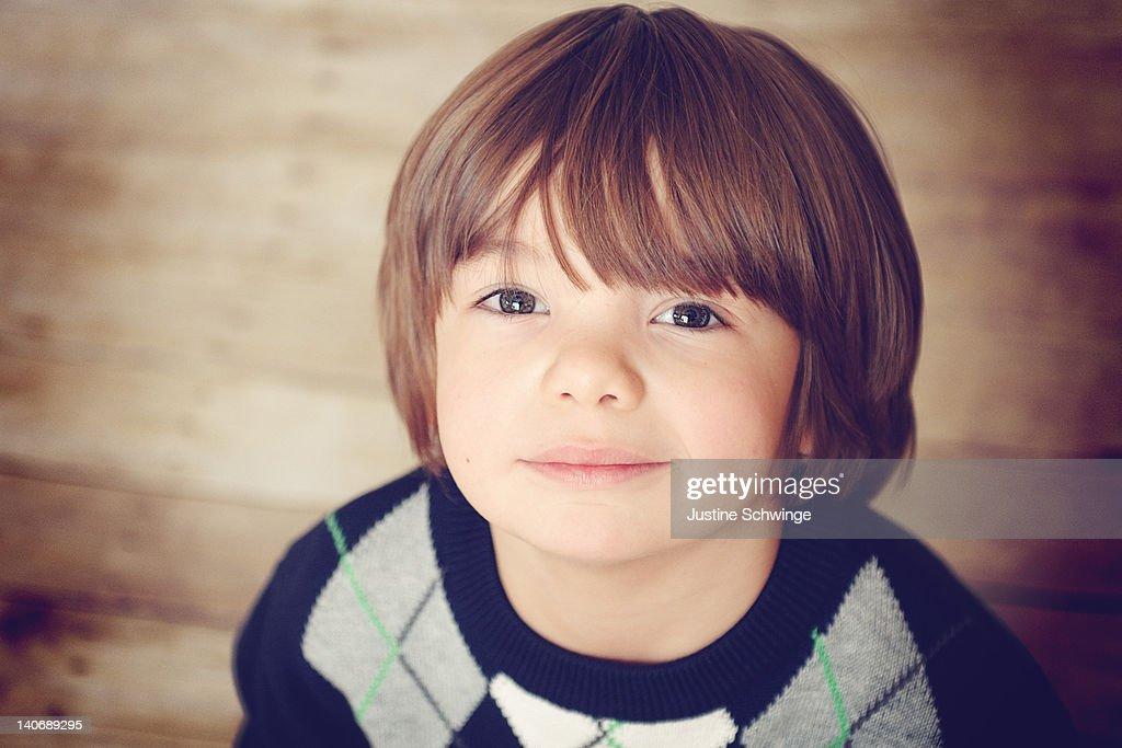 4 Year old boy : Stock Photo