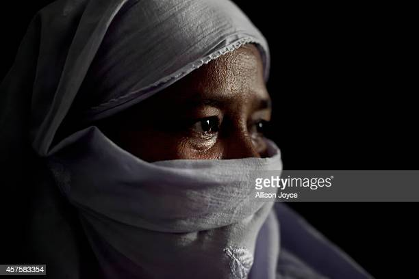 40 year old former Kandapara brothel sex worker Taslima poses for a photo on October 18 2014 in Tangail Bangladesh Taslima was born into the brothel...