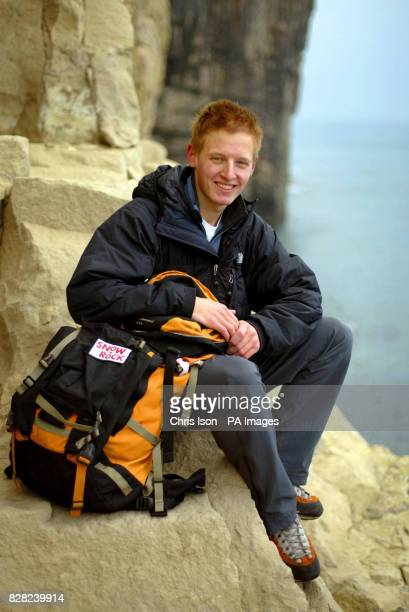 19 year old mountaineer Rhys Jones from the New Forest Hampshire who is making a bid to become the youngest person ever to climb the highest mountain...