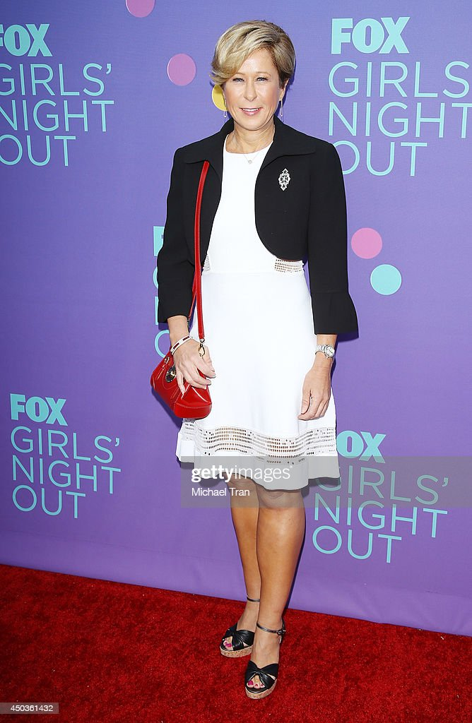 <a gi-track='captionPersonalityLinkClicked' href=/galleries/search?phrase=Yeardley+Smith&family=editorial&specificpeople=2478190 ng-click='$event.stopPropagation()'>Yeardley Smith</a> arrives at Fox's 'Girls Night Out' held at Leonard H. Goldenson Theatre on June 9, 2014 in North Hollywood, California.