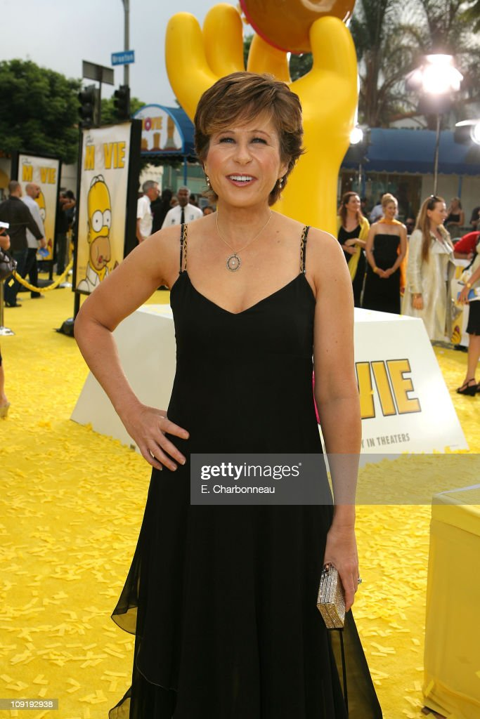 Yeardley Smith at the 'The Simpsons Movie' premiere at The Mann Village Theaters on July 24 2007 in Westwood California