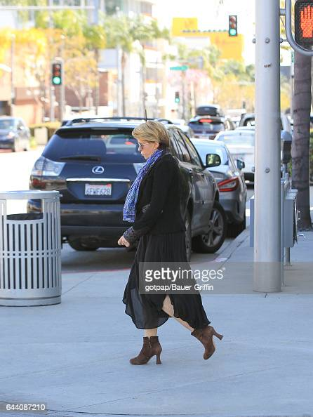 Yeardley Smith is seen on February 22 2017 in Los Angeles California