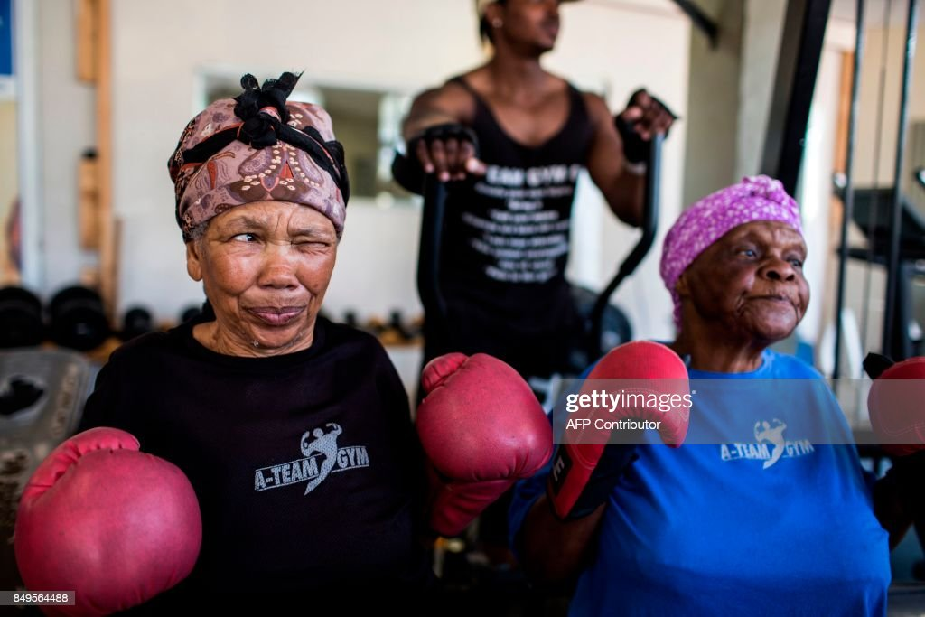 Meet The Gogos - Johannesburg's Boxing Grannies