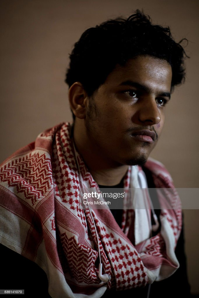 23 yearold Syrian Khalifa poses for a portrait on May 12 2016 in Gaziantep Turkey Khalifa who works as a writer/reporter and Syrian activist was...