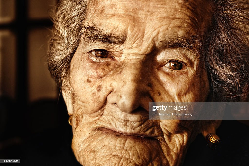103 years and with the serenity in her eyes