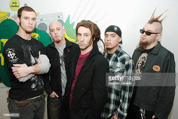 10 Years during Armor For Sleep 10 Years and TI Visit MTV2 March 24 2006 at MTV Studios in New York City NY United States