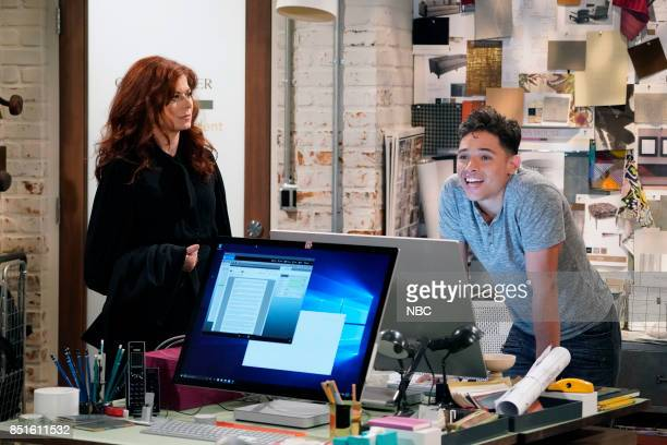 WILL GRACE '11 Years Later' Episode 101 Pictured Debra Messing as Grace Adler Anthony Ramos as Tony