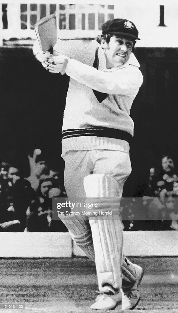 100 Years of Australian Cricket Australian skipper Ian Chappell trying to hook a bouncer from England bowler John Snow during the Second Test at...