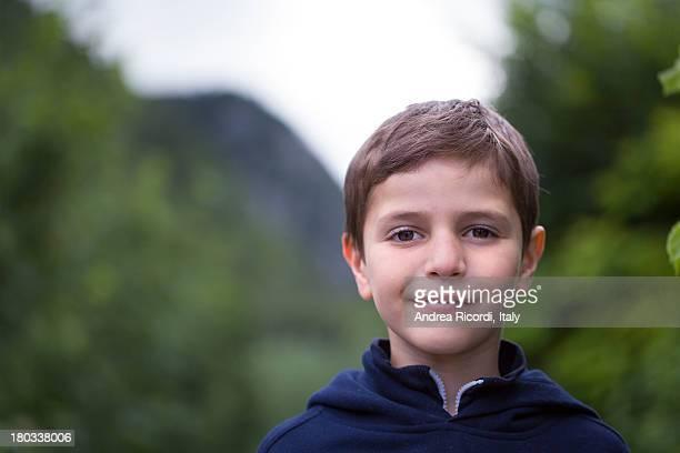 7 years old italian boy