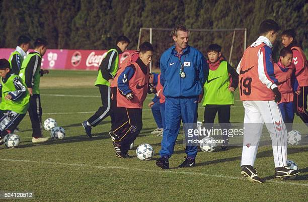 12 years old players are trained at a private soccer school by the Dutch coach Abraham Braam The school is directed by the former Korean soccer star...