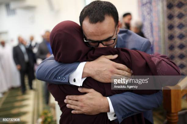 Mohamed Soltan an EgyptianAmerican human rights Advocate who was a political prisoner in Egypt from August 2013 to May 2015 is seen in New Jersey...