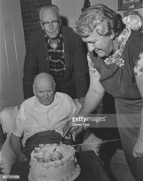 Years Young Luke Hayden celebrated his 100th birthday this week at the Queen City Nursing Home 6121 W 60th Ave Arvada with his son and daughterinlaw...