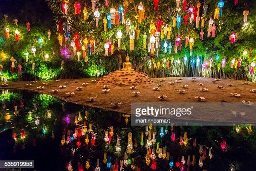 yeepeng festival at Pantao temple : Stock Photo