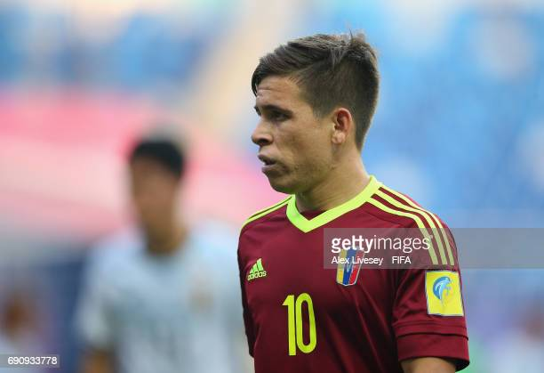 Yeferson Soteldo of Venezuela during the FIFA U20 World Cup Korea Republic 2017 Round of 16 match between Venezuela and Japan at Daejeon World Cup...