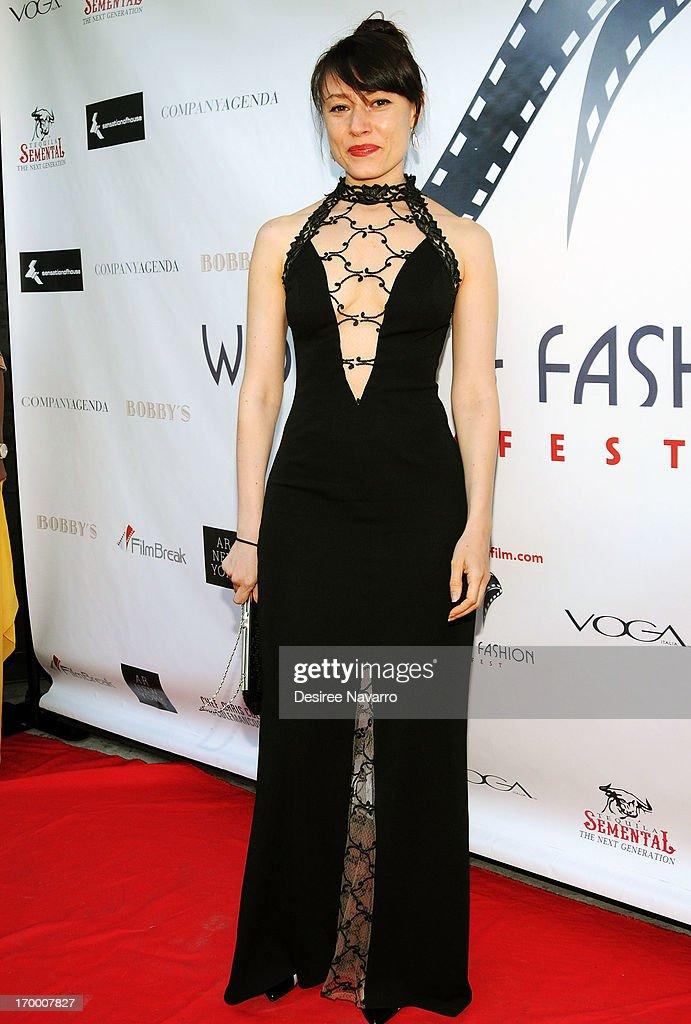 Yelena Deyneko attends the 2013 Women & Fashion FilmFest Launch Party at Bobby's Nightclub on June 5, 2013 in New York City.